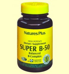 Super B-50 - Natures Plus - 60 càpsules
