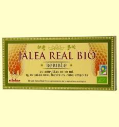 Gelea Reial bebible Bio 1 gram - Mielar - 20 ampolles
