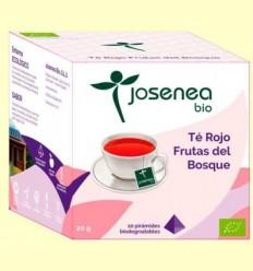 Te Vermell Fruites de el Bosc Bio - Josenea - 10 piràmides