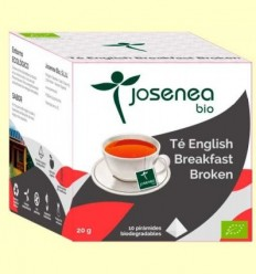 Te English Breakfast Bio - Josenea - 10 piràmides