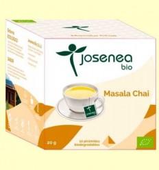 Masala Chai Bio - Josenea - 10 piràmides