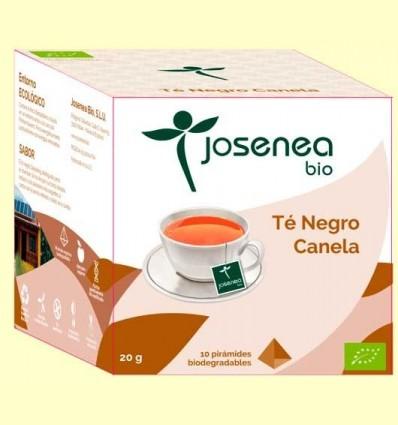 Te Negre Canela Bio - Josenea - 10 piràmides
