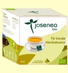 Te Verd Menta Bio - Josenea - 10 piràmides