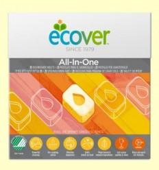 Rentavaixelles per màquina All-in-one - Ecover - 25 pastilles