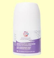 Desodorant Antitranspirant Nº3 - Schüssler - 50 ml