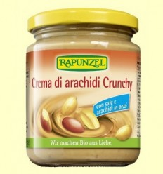 Crema Cacauet Crunchy Sal Rapunzel - Biocop - 250 grams
