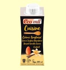 Cuisine Crema Anglesa Bio - EcoMil - 200 ml