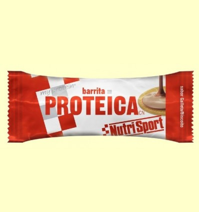 Barreta Proteica - Sabor Galeta - NutriSport - 46 grams