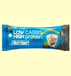 Barreta Low carbs High Protein - Irish Cream - NutriSport - 16 barretes