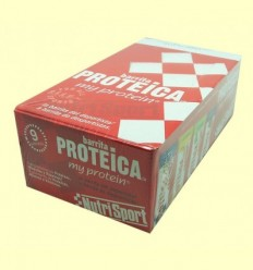 Barreta Proteica Xocolata - NutriSport - 24 barretes