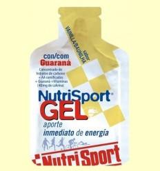 Gel + Guaraná Vainilla - Nutrisport - 40 ml