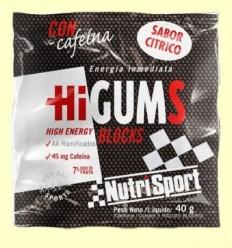 HiGUMS Cítric - Hidrats de carboni - NutriSport - 40 grams