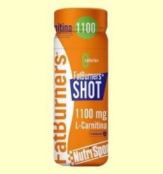 FatBurners Shot - L-Carnitina - Nutrisport - 60 ml