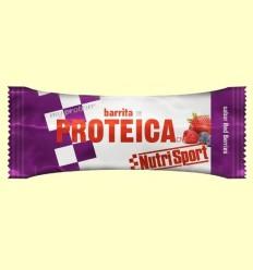 Barreta Proteica - Sabor Xarxa Berries - NutriSport - 24 barretes