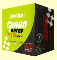 Carbo Energy Tabs - Nutrisport - 32 comprimits