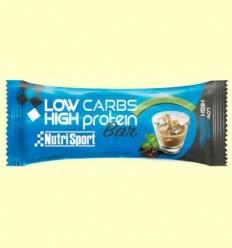 Barreta Low carbs High Protein - Irish Cream - NutriSport - 60 grams
