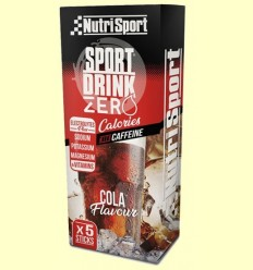 Beguda Hydra Zero Cua - NutriSport - 5 estics