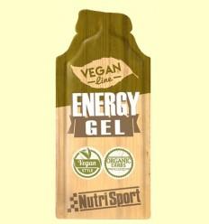 Vegan Energy Gel - Aportació Energètic - NutriSport - 1 sobre la