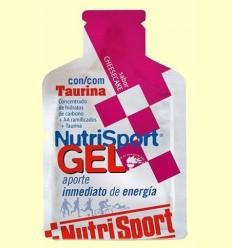 Gel Sport amb Taurina Sabor Cheesecake - NutriSport - 40 grams