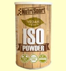 Vegan Iso Powder - Aportació energètica - Nutrisport - 490 grams