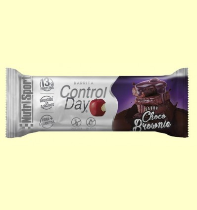 Barreta Control Day Xocolata Brownie - NutriSport - 44 grams