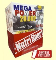 Mega Power Batut Vainilla - NutriSport - 40 sobres