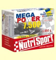 Mega Power Batut Vainilla - NutriSport - 15 sobres