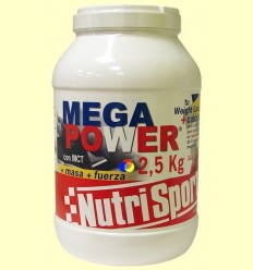 Mega Power gust Maduixa - Nutrisport - 2,5 kg