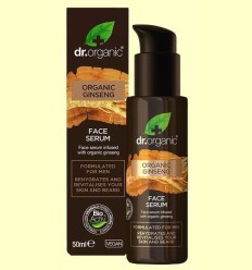 Serum Facial Homes - Ginseng - Dr.Organic - 50 ml