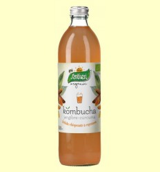 Kombucha Cúrcuma i Gingebre Bio - Santiveri - 500 ml
