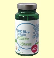 zinc Citrat - Naturlider - 60 càpsules