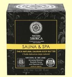 Sauna & Spa Oli Dáurico Corporal - Natura Siberica - 370 ml