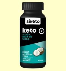 Keto Oli MCT de Coco - Siketo - 300 ml