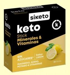 Keto Minerals i Vitamines - Siketo - 20 estics