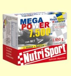 Mega Power Batut Xocolata - NutriSport - 15 sobres
