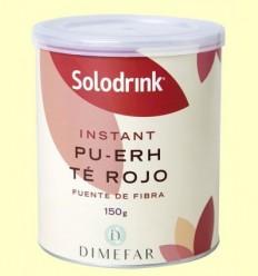Solodrink Te vermell Pu-erh - Laboratorios Dimefar - 150 grams
