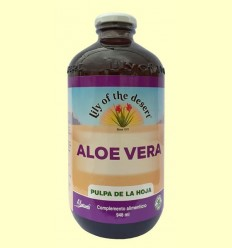 Suc d'Aloe Vera Polpa del full 99,7% - Lily of the desert - 946 ml