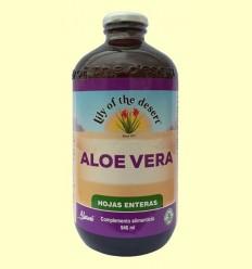 Suc d'Aloe Vera Full sencera 99,7% - Lily of the desert - 946 ml