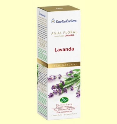 Aigua Floral de Lavanda - Pell amb Acne - Esential Aroms - 100 ml
