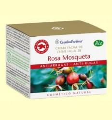 Crema Facial Antiarrugues Rosa Mosqueta Natural i Ecològica - Esential Aroms - 50 ml