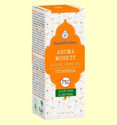Pack Aroma Moskit amb Braçalet - Anti Mosquits - Esential Aroms - 15 ml
