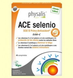 ACE seleni - Vitamines - Physalis - 45 comprimits