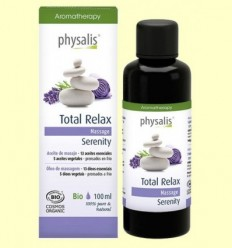 Total Relax - Oli de massatge - Physalis - 100 ml