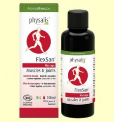 Flexan - Oli de massatge - Physalis - 100 ml