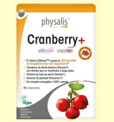 Cranberry + Bio - Physalis - 30 comprimits