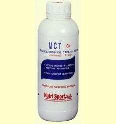 Triglicèrids Cadena Mitja (MCT) - Nutrisport - 1L