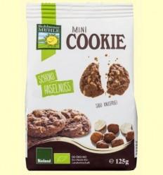 Mini Galetes Xocolata i Avellana Bio - Bohlesner Mühle - 125 grams
