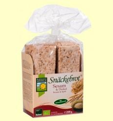 Snackebrot Pa de Sèsam i Espelta - Bohlesner Mühle - 200 grams