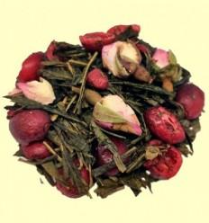 Te Verd Sencha aromatitzat amb Nabius i Roses