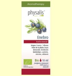 Oli Essencial Ginebre Bio - Physalis - 10 ml